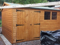 Fully Assembled Shed