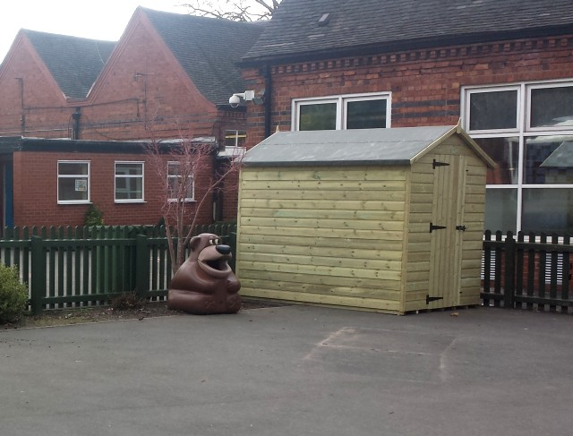 Timber Sheds for Schools