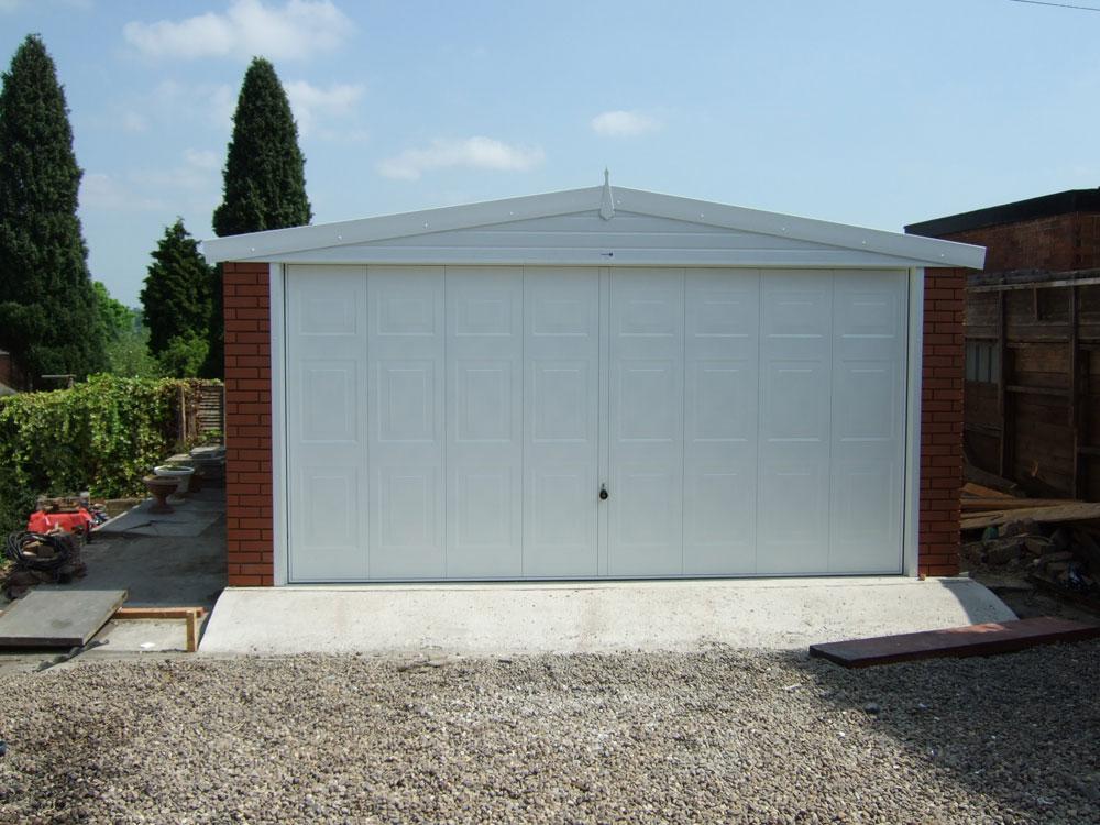 Single apex garages birmingham west midlands dave for 14 wide garage door