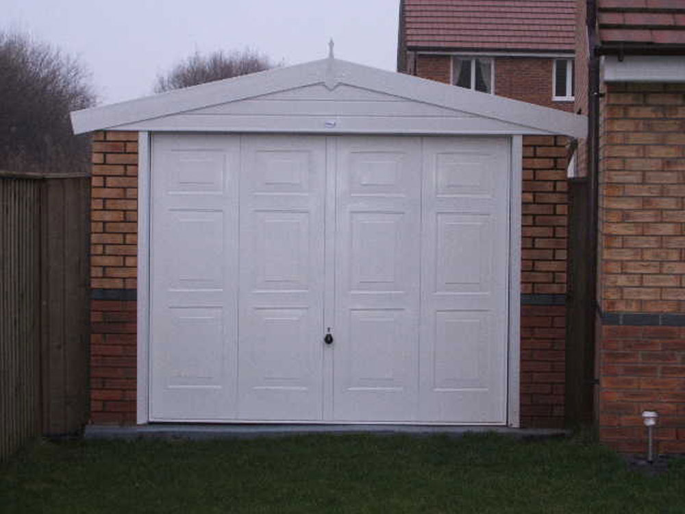 Single Apex Garages Birmingham West Midlands Dave