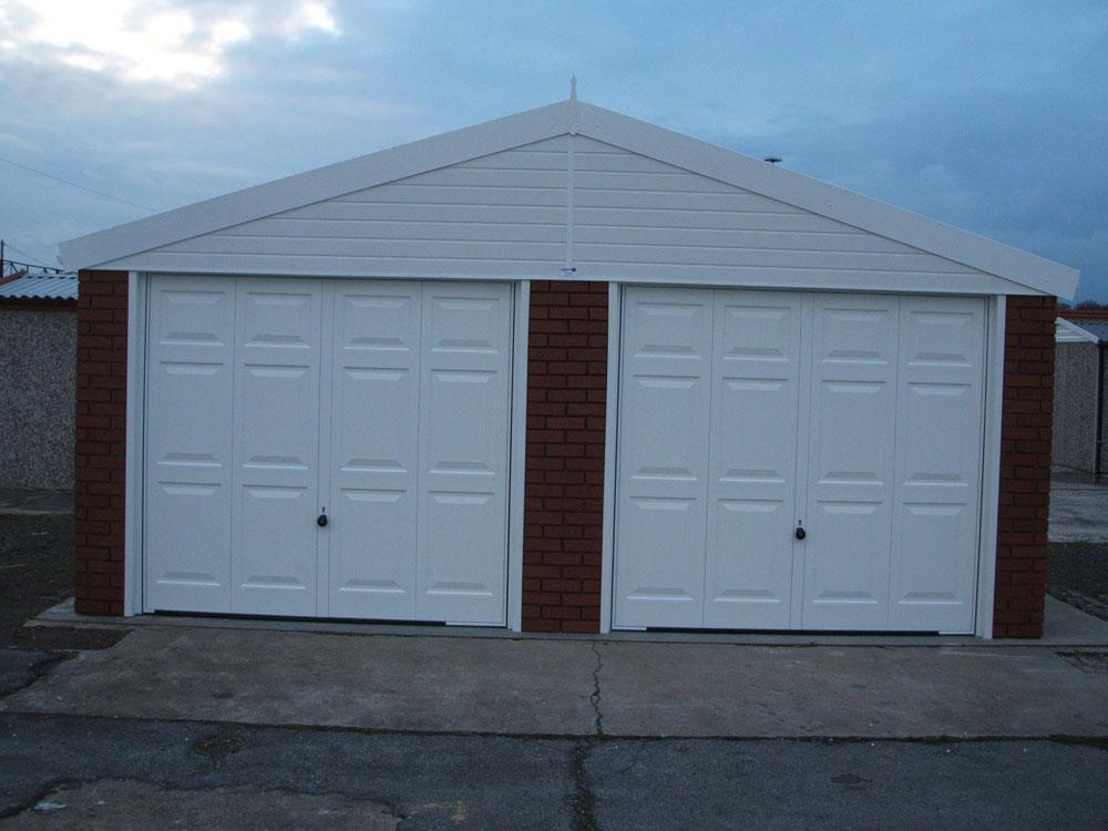 Double Apex Garages Range : Birmingham : West Midlands ...