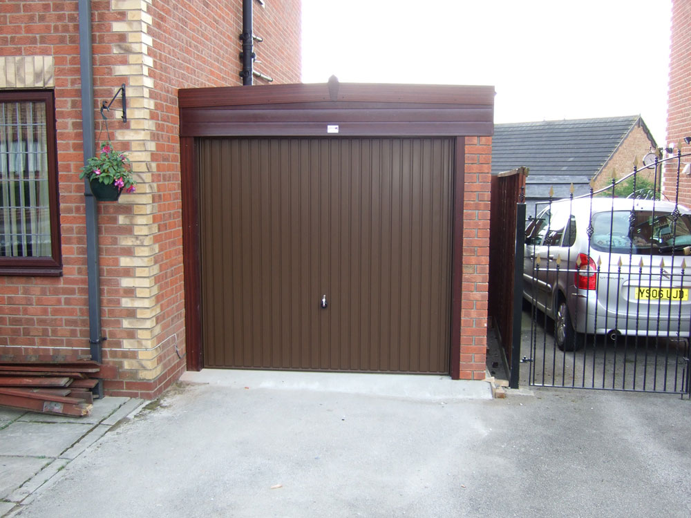 Lean to concrete garages range birmingham west for Garage with lean to