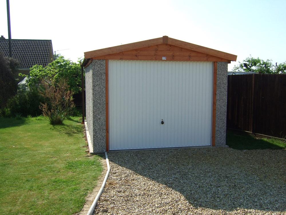 Single apex garages birmingham west midlands dave for 12 ft wide garage door