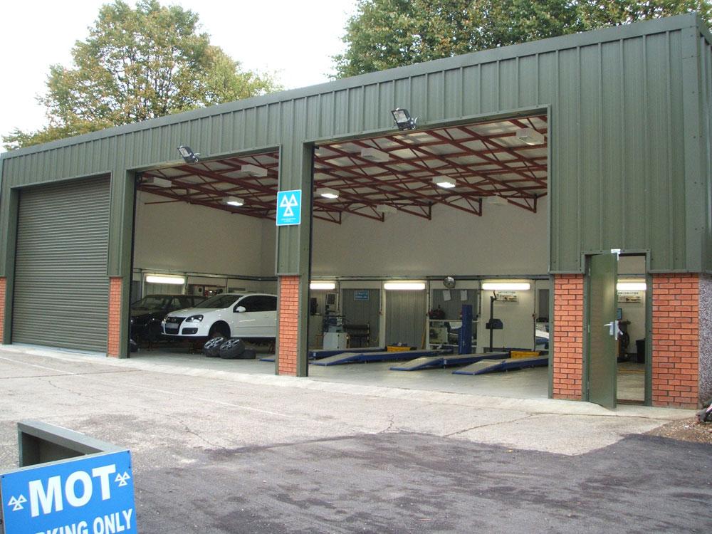 Light Industrial Concrete Garage Range Birmingham West
