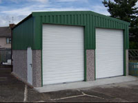Extra Height & Length Garages