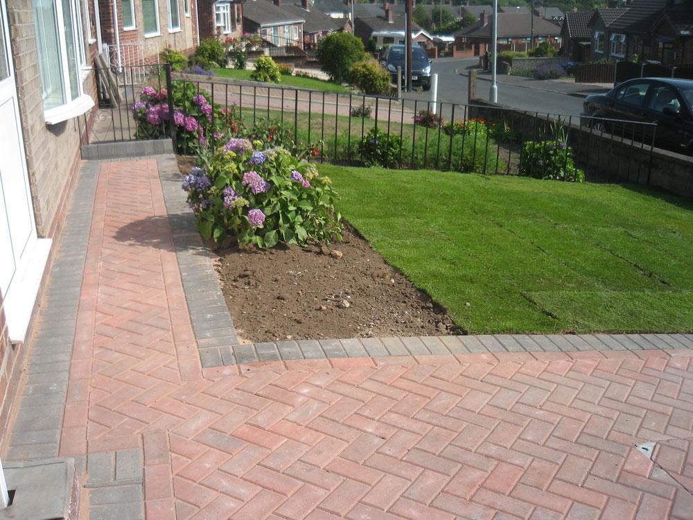 Landscaping Paver Block : Site clearance landscaping services portfolio birmingham