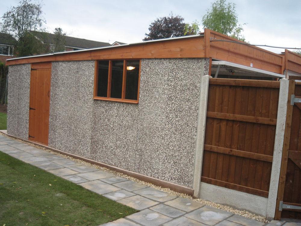 Landscaping services portfolio birmingham west for Garage fence