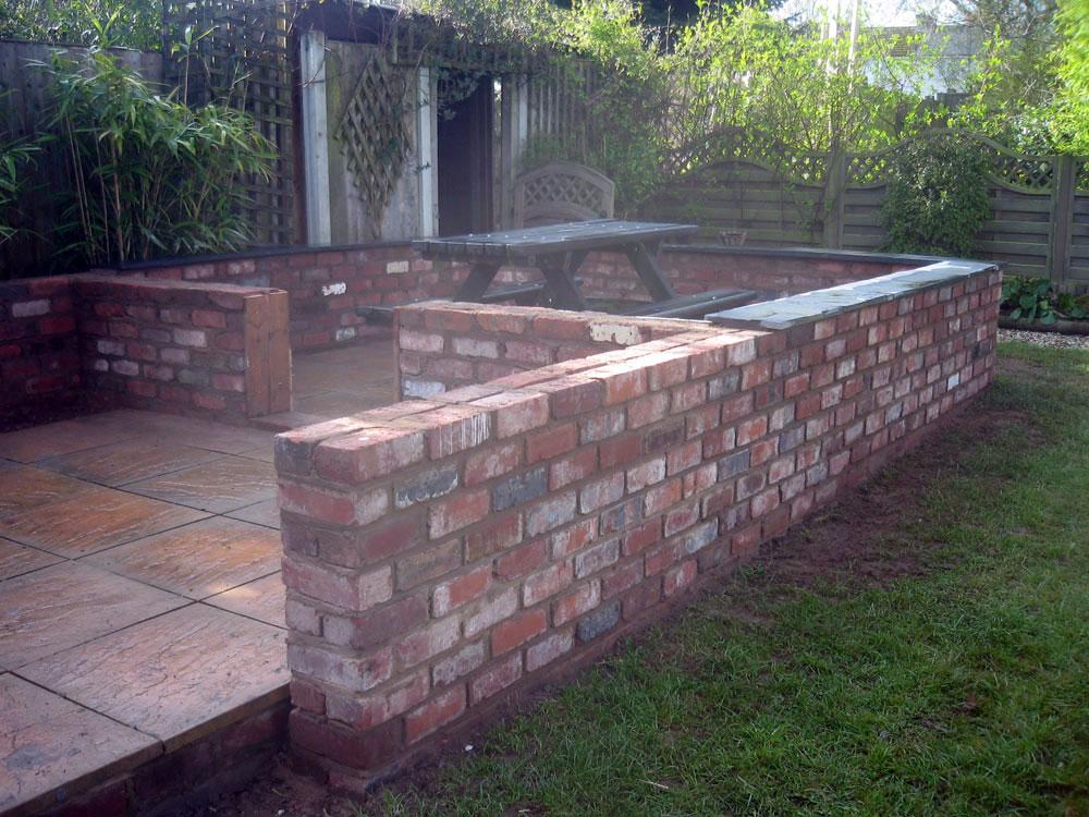 Patio Wall »